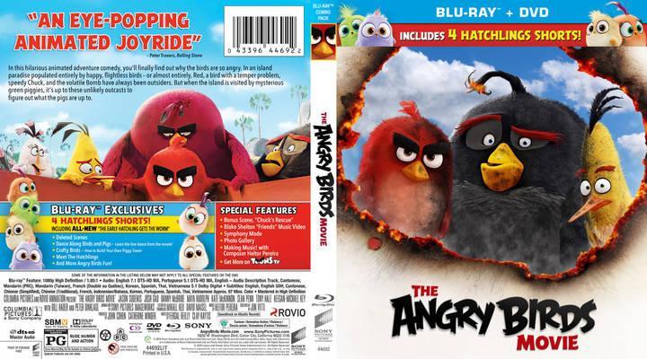دانلود دوبله فارسی انیمیشن Angry Birds 2016