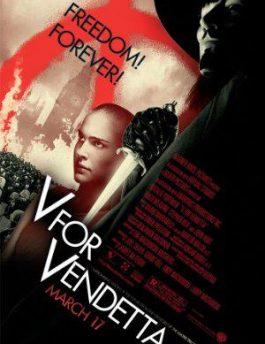 دانلود فیلم V for Vendetta 2005 زیرنویس فارسی و سانسور شده