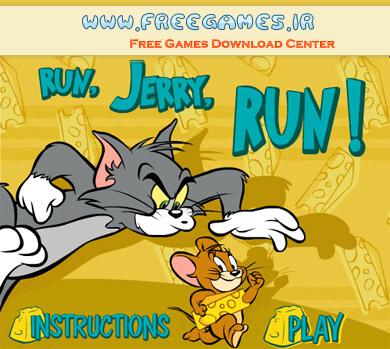 بازی آنلاین موش و گربه Run Jerry Run!
