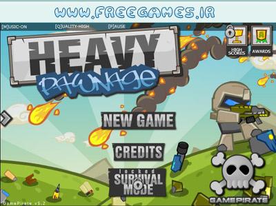 بازی آنلاین جنگ سخت Heavy Pawnage