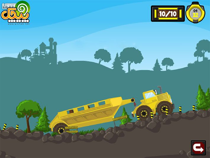 بازی آنلاین متفرقه کامیون کمپرسی 3