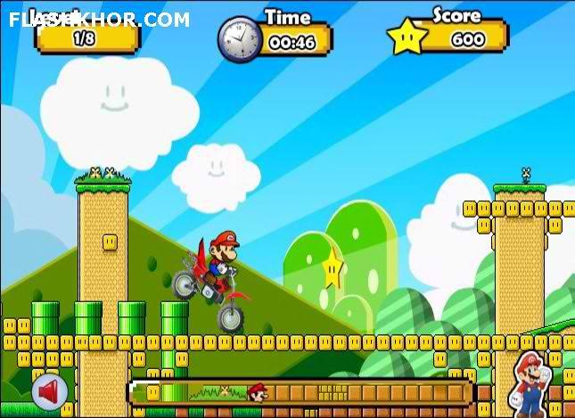 بازی آنلاین ماریو