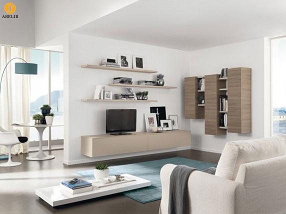 نمونه طراحی میز تلویزیون مدرن
