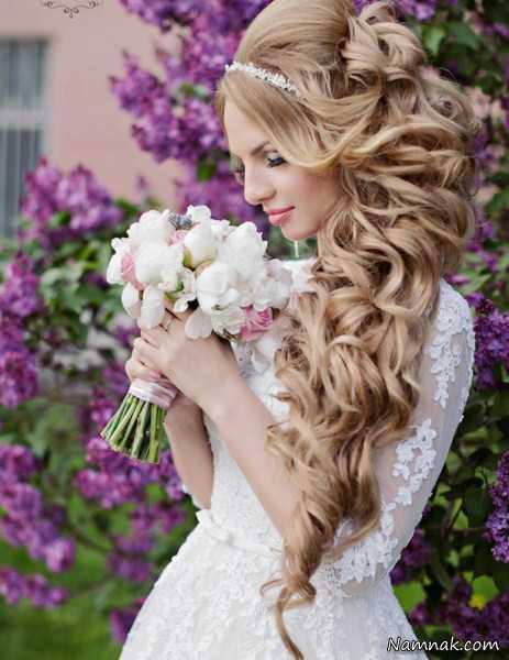 مدل مو جدید عروس