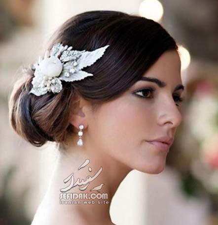 زیباترین مدل مو شینیون عروس