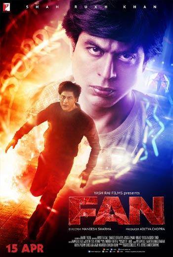 دانلود دوبله فارسی فیلم هندی طرفدار Fan 2016