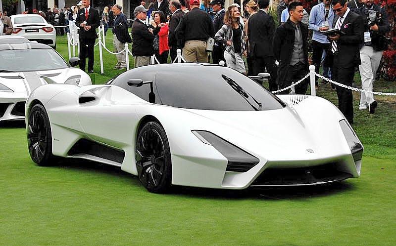 معرفی گران ترین خودروهای دنیا - شلبی سوپر کارز تائوتارا SSC Tuatara