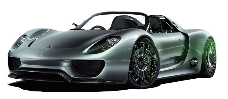 معرفی گران ترین خودروهای دنیا - پورشه اسپایدر Porsche ۹۱۸ Spyder