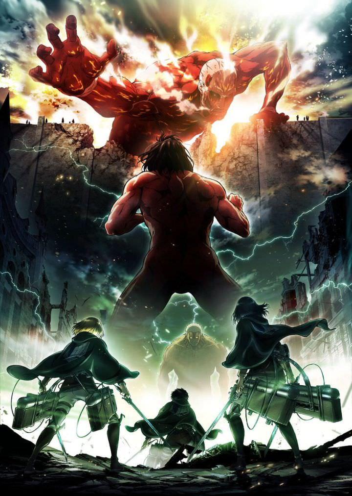 دانلود فصل 2 انیمه حمله به تایتان ها Attack on Titan