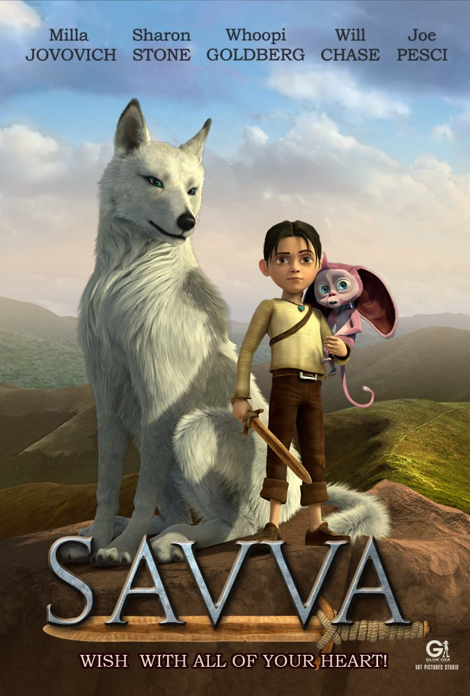 دانلود دوبله فارسی انیمیشن ساوا، داستان یک جنگجو A Warrior's Tail 2015 با لینک مستقیم