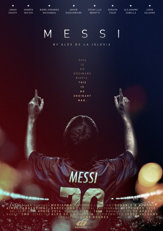 دانلود دوبله فارسی مستند مسی 2014 Messi