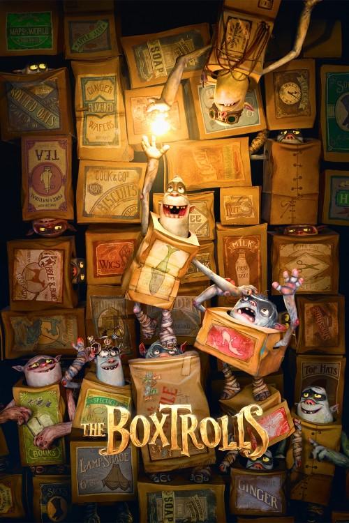 دانلود دوبله فارسی انیمیشن غول های جعبه ای The Boxtrolls 2014