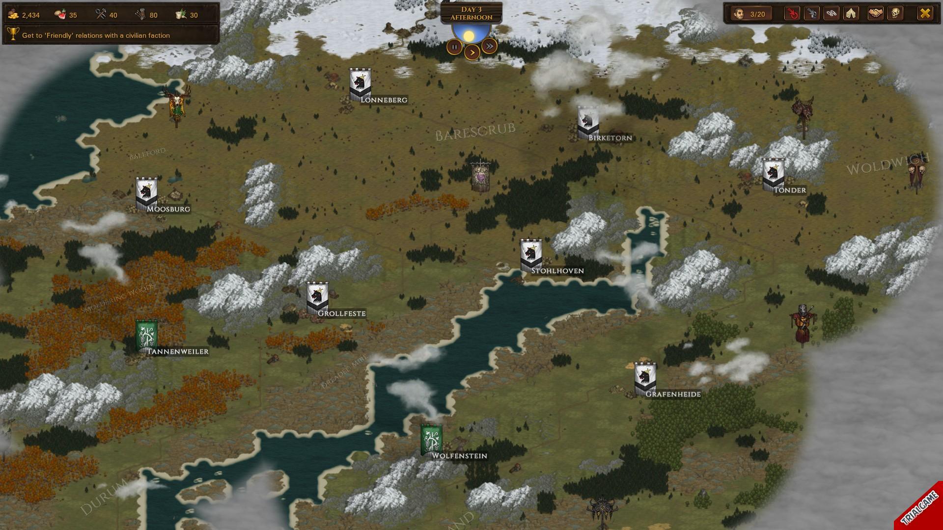 تصاویری از محیط بازی Battle Brothers