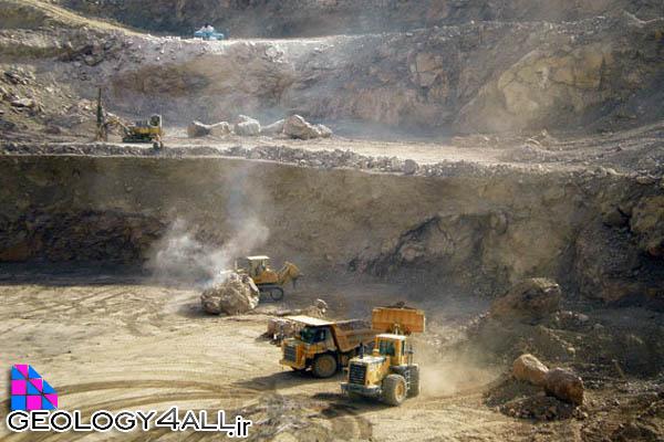 مراحل اکتشاف معدن