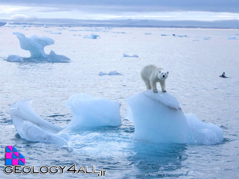 ذوب یخ و وقایع زمین شناسی