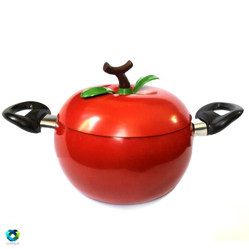 قابلمه تفلون طرح گوجه