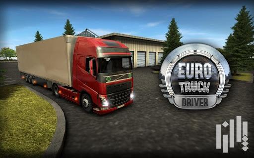 دانلود بازی راننده کامیون  euro truck driver  اندروید