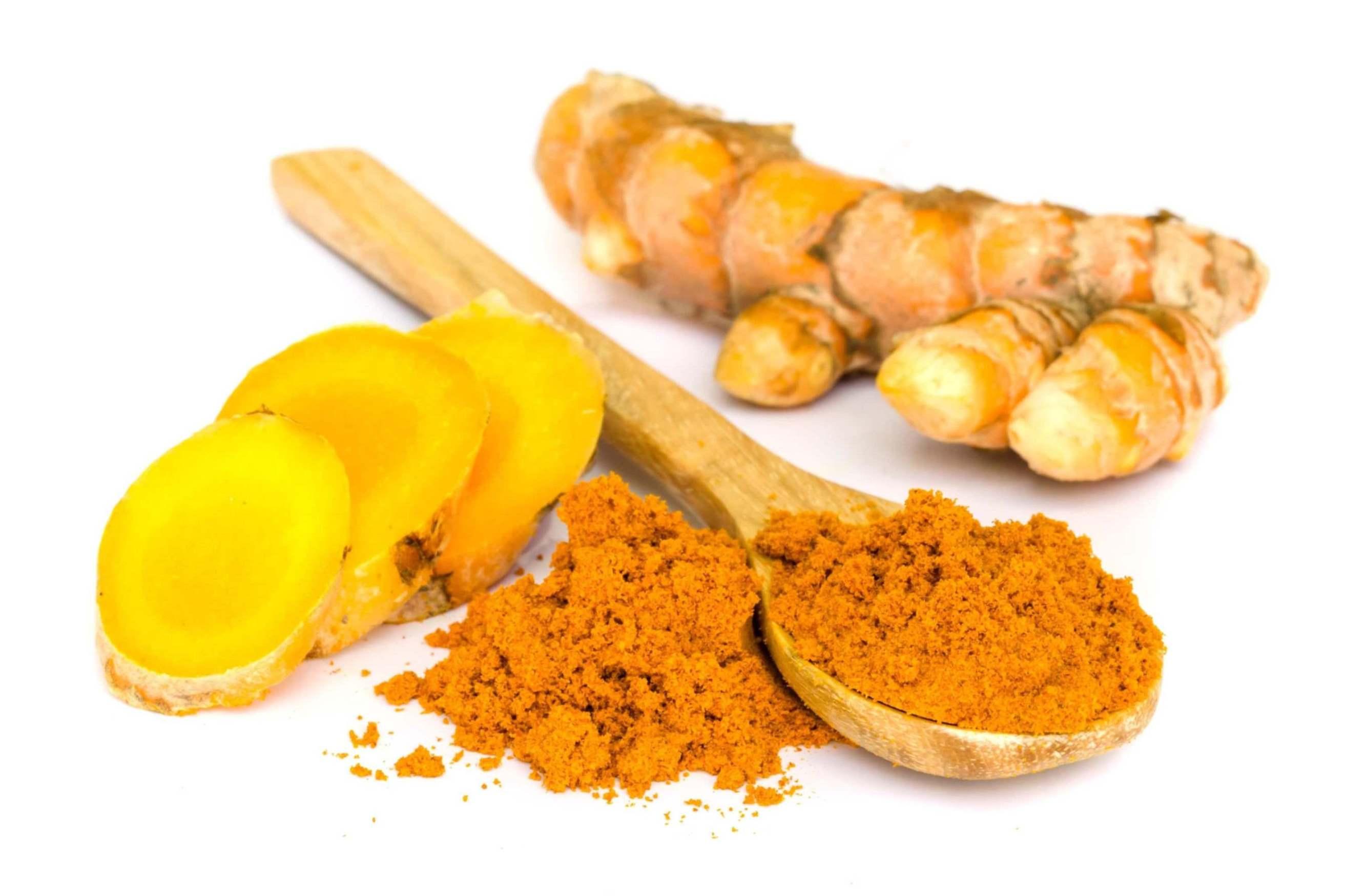 گیاه دارویی زردچوبه برای سلامت و تقویت مغز