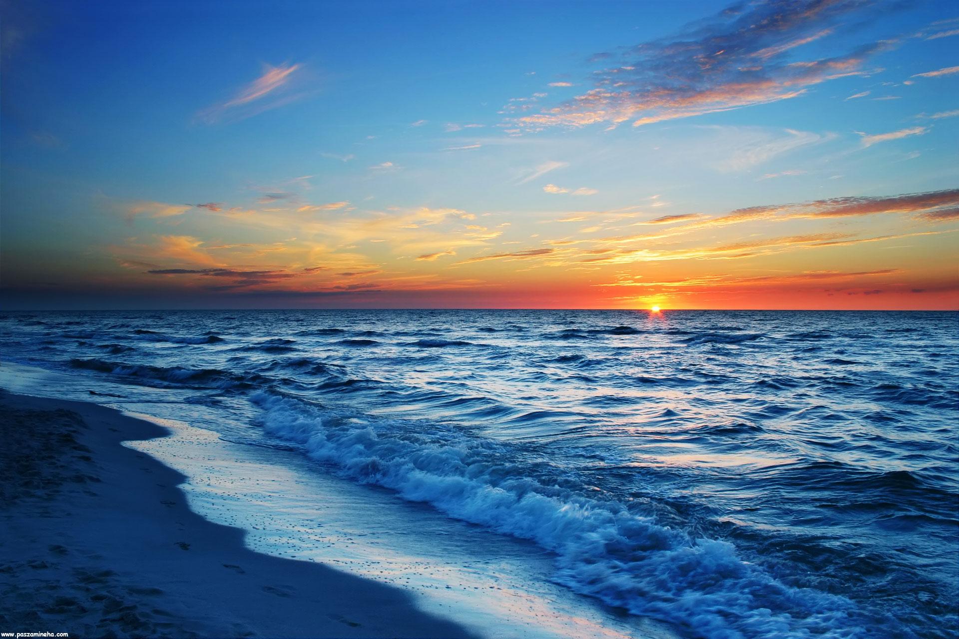 تصاویری از دریا