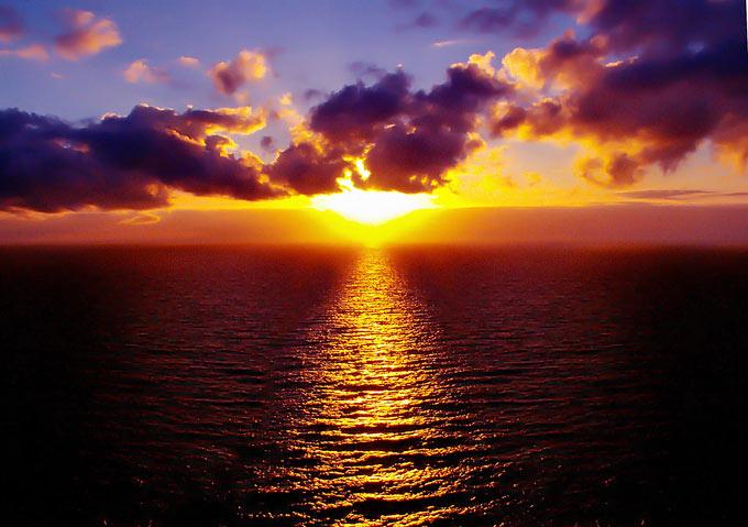 عکس غروب آفتاب