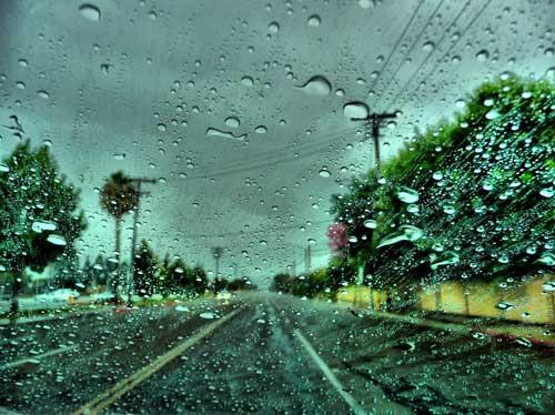 تصاویر از باران
