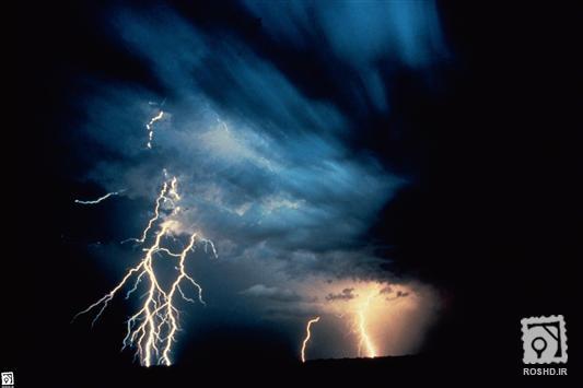 تصاوير آسمان باراني