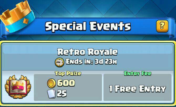 رویداد Retro Royale در دسترس قرار گرفت