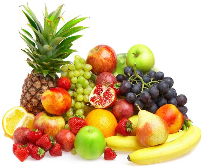 پایین آورنده کلسترول با میوه ها