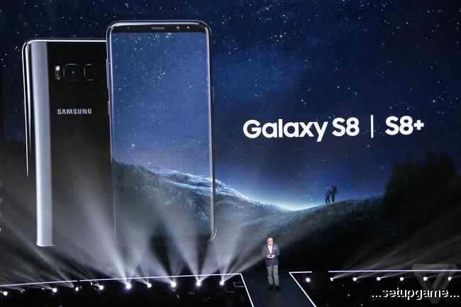سامسونگ دو گوشی گلکسی اس 8 و اس 8 پلاس را معرفی کرد، تعریفی جدید از گوشیهای هوشمند