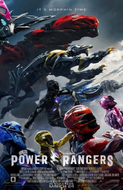 دانلود فیلم پاور رنجرز 2017 Power Rangers