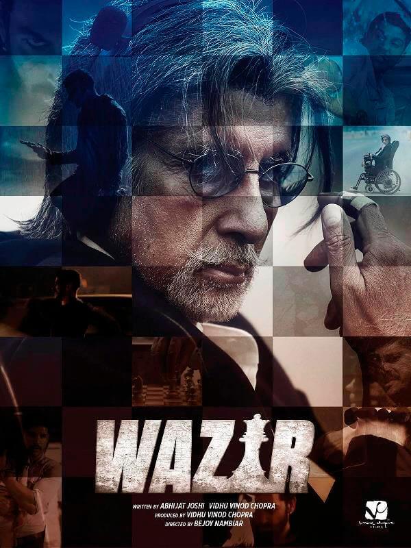 دانلود دوبله فارسی فیلم هندی وزیر Wazir 2016