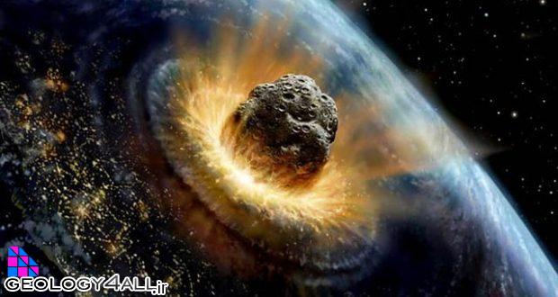 برخورد شهاب سنگی عظیم و شروع نابودی دایناسور ها