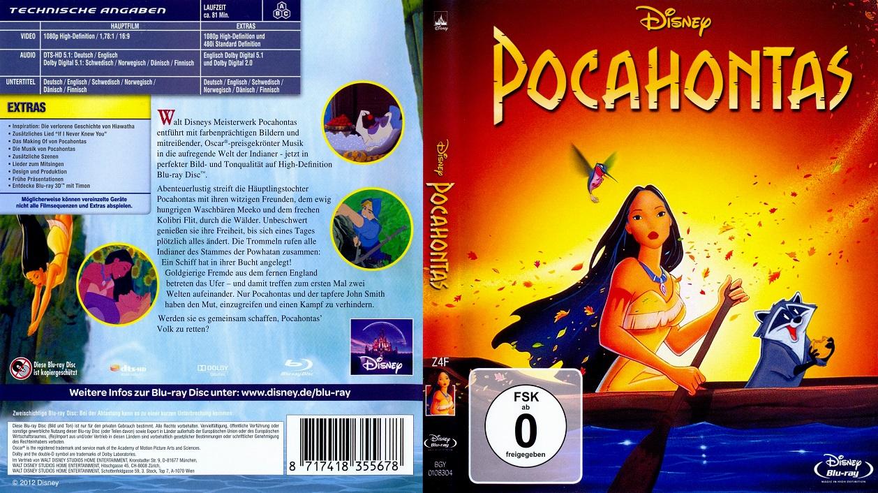 دانلود دوبله فارسی انیمیشن Pocahontas 1995
