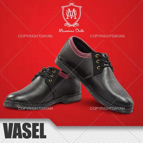 کفش مردانه Vasel(مشکی)
