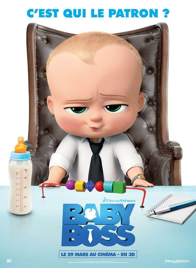 دانلود انیمیشن بچه رئیس 2017 The Boss Baby