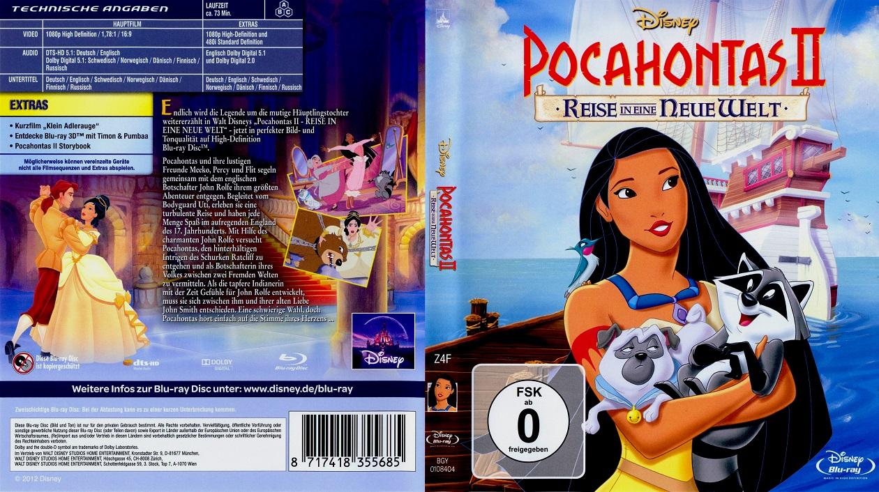 دانلود دوبله فارسی انیمیشن Pocahontas 2: Journey to a New World 1998