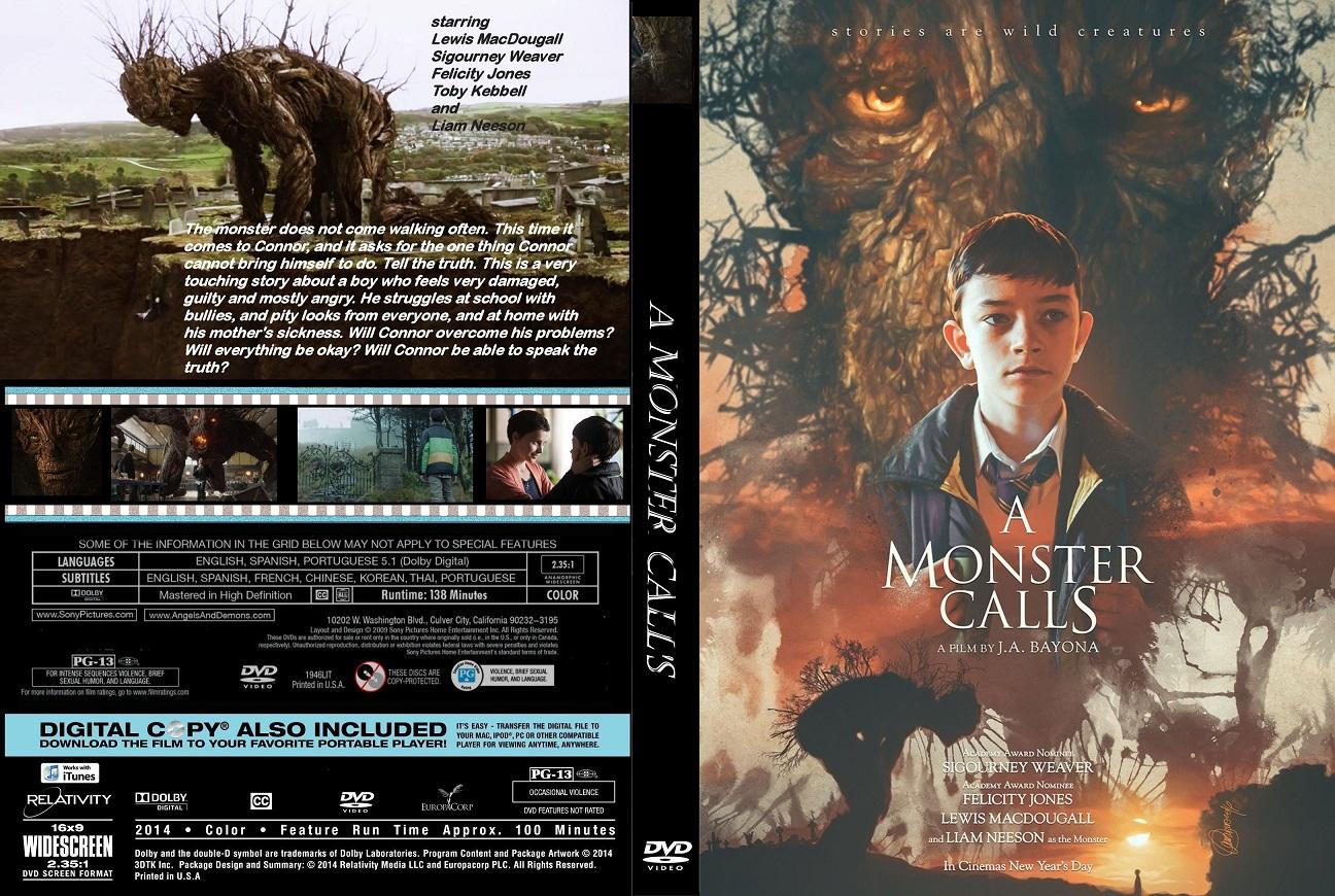 دانلود دوبله فارسی فیلم هیولایی صدا می زند A Monster Calls 2016