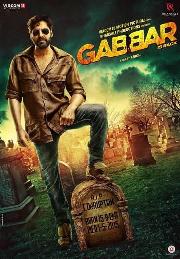 دانلود دوبله فارسی فیلم هندی جبار برگشته Gabbar is Back 2015