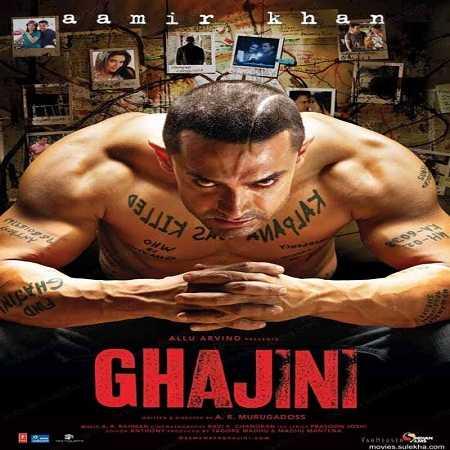 دانلود دوبله فارسی فیلم هندی گجینی Ghajini 2008