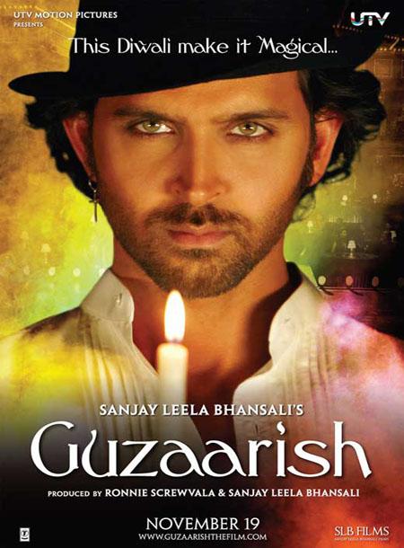 دانلود دوبله فارسی فیلم هندی درخواست Guzaarish 2010