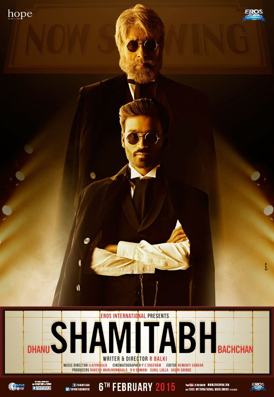 دانلود دوبله فارسی فیلم هندی شامیتاب ۲۰۱۵ Shamitabh