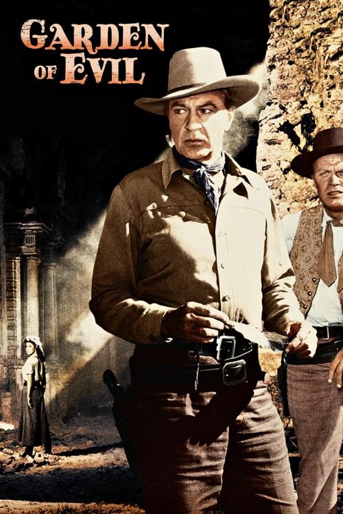 دانلود دوبله فارسی فیلم باغ شیطان Garden of Evil 1954