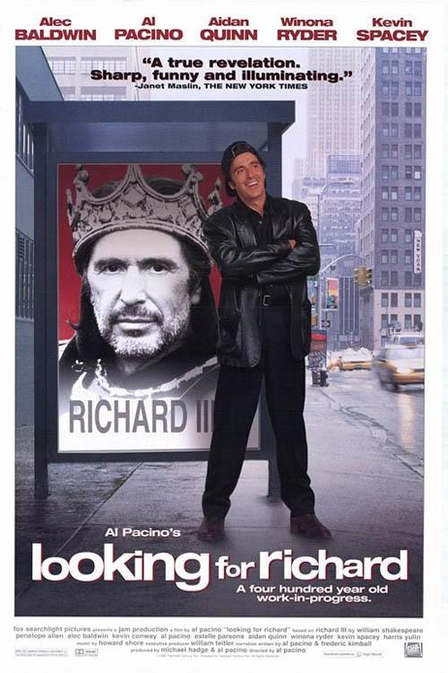 دانلود دوبله فارسی مستند در جستجوی ریچارد Looking for Richard 1996