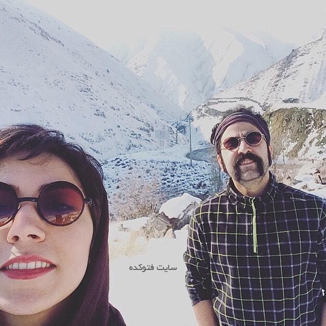 امید نعمتی   بیوگرافی امید نعمتی و همسرش   عکس زن امید نعمتی   شقایق صادقیان
