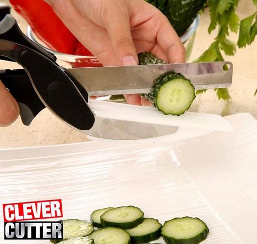 قیچی آشپزخانه clever cutter