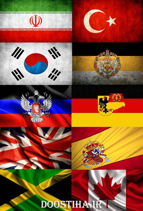 دانلود والپیپر پرچم کشورها برای اندروید