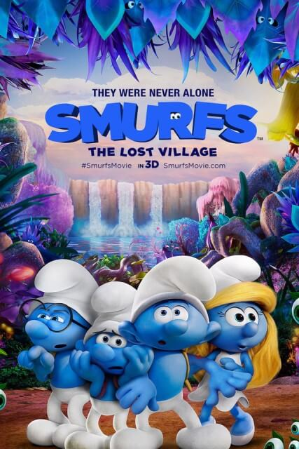 دانلود انیمیشن اسمورفها 2017 Smurfs The Lost Village