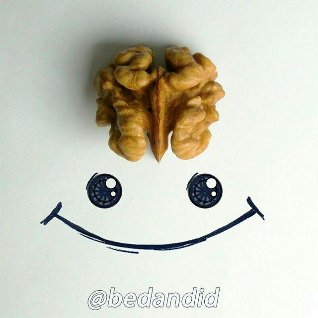 کانال تلگرام بِـدَنديد=بدانيد+بخنديد و ...