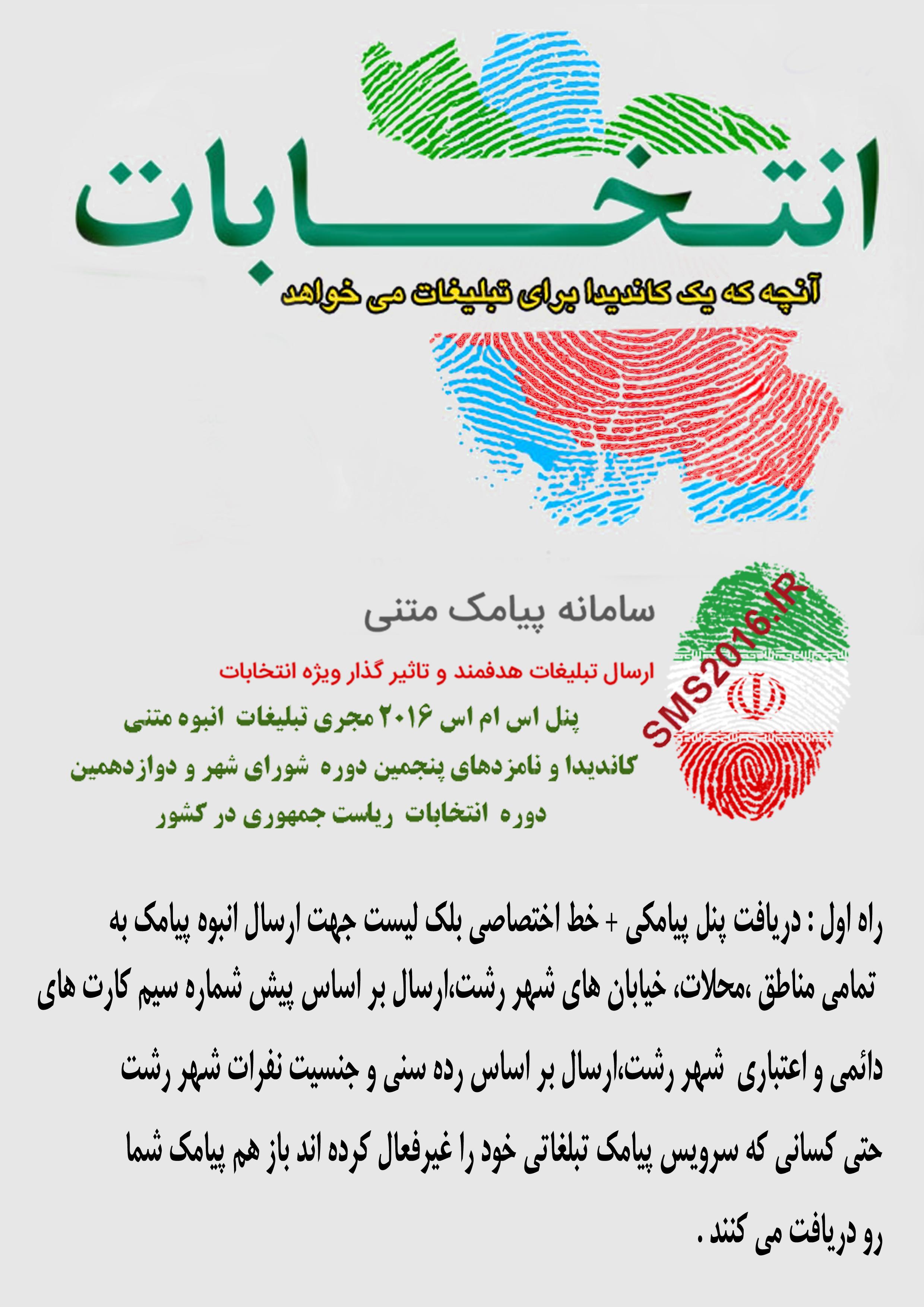 پنجمین دوره انتخابات شورای شهر رشت +و دوازدهمین انتخابات ریاست جمهوری