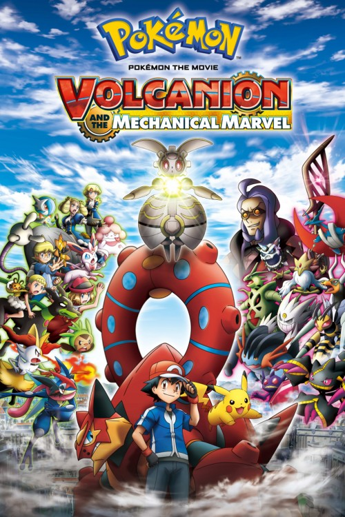 دانلود انیمیشن Pokémon the Movie: Volcanion and the Mechanical Marvel 2016